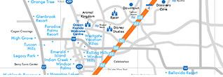 Orlando Villa Communities Map Villa Communities Orlando | Ocean Florida